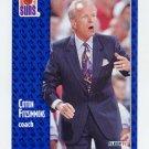 1991-92 Fleer Basketball #159 Cotton Fitzsimmons CO - Phoenix Suns