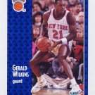 1991-92 Fleer Basketball #142 Gerald Wilkins - New York Knicks