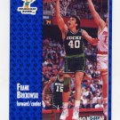1991-92 Fleer Basketball #113 Frank Brickowski - Milwaukee Bucks