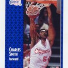1991-92 Fleer Basketball #096 Charles Smith - Los Angeles Clippers