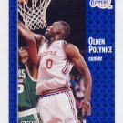 1991-92 Fleer Basketball #094 Olden Polynice - Los Angeles Clippers