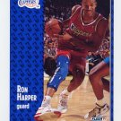 1991-92 Fleer Basketball #090 Ron Harper - Los Angeles Clippers