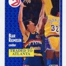 1991-92 Fleer Basketball #052 Blair Rasmussen - Atlanta Hawks