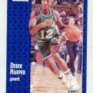 1991-92 Fleer Basketball #045 Derek Harper - Dallas Mavericks