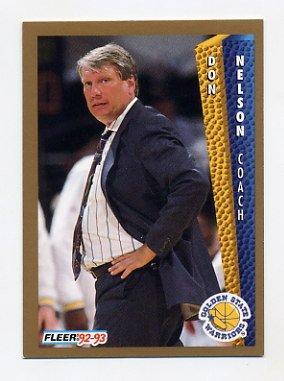 1992 93 Fleer Basketball 078 Don Nelson CO