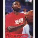 1993-94 Fleer Basketball #367 Kevin Thompson RC - Portland Trail Blazers