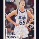 1993-94 Fleer Basketball #347 Keith Tower RC - Orlando Magic