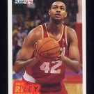 1993-94 Fleer Basketball #296 Eric Riley RC - Houston Rockets