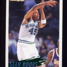 1994-95 Fleer Basketball #054 Sean Rooks - Dallas Mavericks