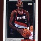 1992-93 Topps Basketball #354 Clyde Drexler - Portland Trail Blazers