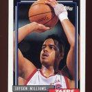 1992-93 Topps Basketball #134 Jayson Williams - Philadelphia 76ers