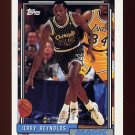 1992-93 Topps Basketball #090 Jerry Reynolds - Orlando Magic
