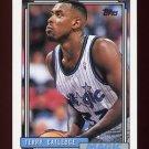 1992-93 Topps Basketball #070 Terry Catledge - Orlando Magic