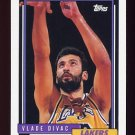 1992-93 Topps Basketball #032 Vlade Divac - Los Angeles Lakers