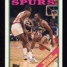 1992-93 Topps Archives Basketball #101 Willie Anderson - San Antonio Spurs