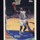 1993-94 Topps Basketball #193 Doug West - Minnesota Timberwolves