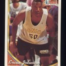 1993-94 Topps Basketball #171 Ervin Johnson RC - Seattle Supersonics