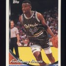 1993-94 Topps Basketball #165 Anthony Bowie - Orlando Magic