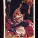 1993-94 Topps Basketball #157 Adam Keefe - Atlanta Hawks