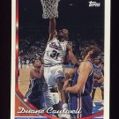 1993-94 Topps Basketball #136 Duane Causwell - Sacramento Kings
