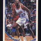 1993-94 Topps Basketball #129 Tim Perry - Philadelphia 76ers