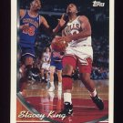1993-94 Topps Basketball #128 Stacey King - Chicago Bulls