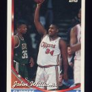 1993-94 Topps Basketball #127 John Williams - Los Angeles Clippers