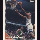 1993-94 Topps Basketball #113 Nick Anderson - Orlando Magic