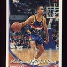 1993-94 Topps Basketball #112 Mahmoud Abdul-Rauf - Denver Nuggets