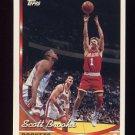 1993-94 Topps Basketball #107 Scott Brooks - Houston Rockets