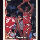 1993-94 Topps Basketball #097 Elmore Spencer - Los Angeles Clippers