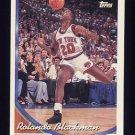 1993-94 Topps Basketball #085 Rolando Blackman - New York Knicks