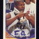 1993-94 Topps Basketball #075 Luther Wright RC - Utah Jazz