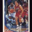 1993-94 Topps Basketball #060 Jeff Hornacek - Philadelphia 76ers