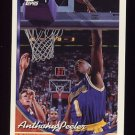 1993-94 Topps Basketball #049 Anthony Peeler - Los Angeles Lakers
