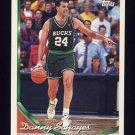 1993-94 Topps Basketball #047 Danny Schayes - Milwaukee Bucks