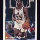 1993-94 Topps Basketball #034 Larry Stewart - Washington Bullets