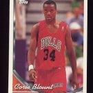 1993-94 Topps Basketball #015 Corie Blount RC - Chicago Bulls