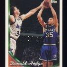 1993-94 Topps Basketball #006 Donald Hodge - Dallas Mavericks