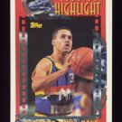 1993-94 Topps Basketball #004 Mahmoud Abdul-Rauf - Denver Nuggets