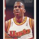1993-94 Topps Gold Basketball #081G Kevin Willis - Atlanta Hawks