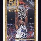 1993-94 Topps Gold Basketball #050G Nick Anderson - Orlando Magic
