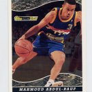 1993-94 Topps Black Gold Basketball #13 Mahmoud Abdul-Rauf - Denver Nuggets
