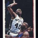 1994-95 Topps Basketball #128 Willie Anderson - San Antonio Spurs