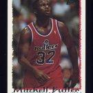 1994-95 Topps Basketball #021 Mitchell Butler - Washington Bullets