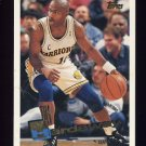 1995-96 Topps Basketball #287 Tim Hardaway - Golden State Warriors