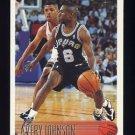 1996-97 Topps Basketball #202 Avery Johnson - San Antonio Spurs