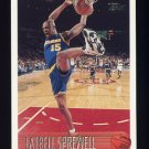 1996-97 Topps Basketball #183 Latrell Sprewell - Golden State Warriors