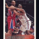 1996-97 Topps Basketball #142 Lorenzen Wright RC - Los Angeles Clippers