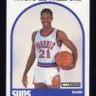 1989-90 Hoops Basketball #344 Michael Williams - Phoenix Suns